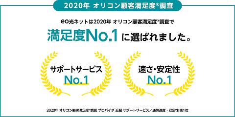eo光 オリコン顧客満足度NO1