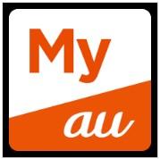 My auのアプリのロゴ